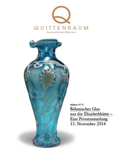 Sonderauktion Böhmisches Glas aus der Elisabethhütte