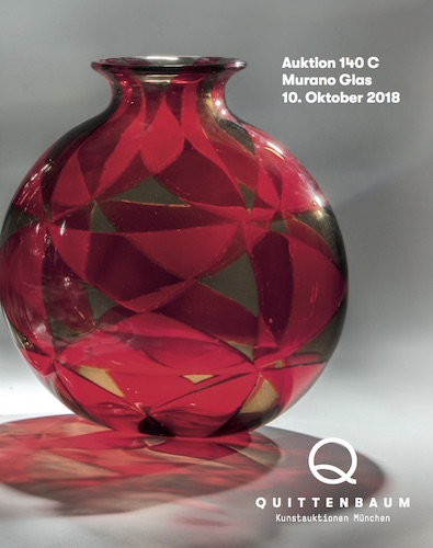 Auction Murano Glass