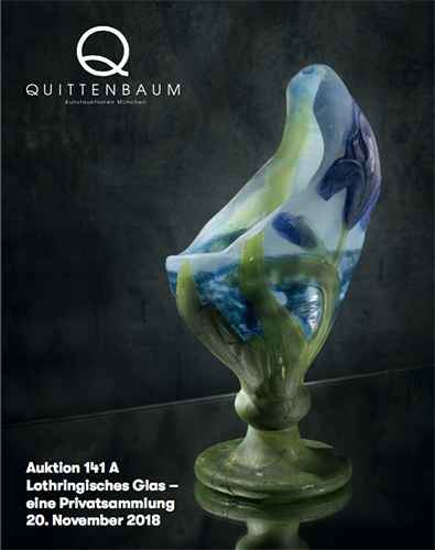 Auction Art Glass from Lorraine - a private collection