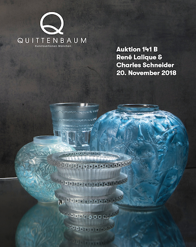 Auction René Lalique & Charles Schneider