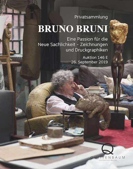 Private Collection Bruno Bruni. A Passion for the New Objectivity - drawings and prints