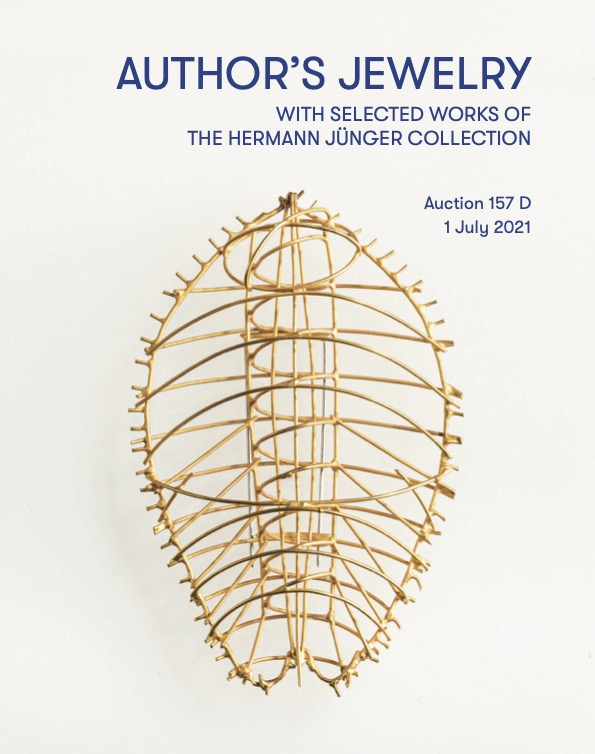 Author's Jewelry with selected works of the Hermann Jünger Collection